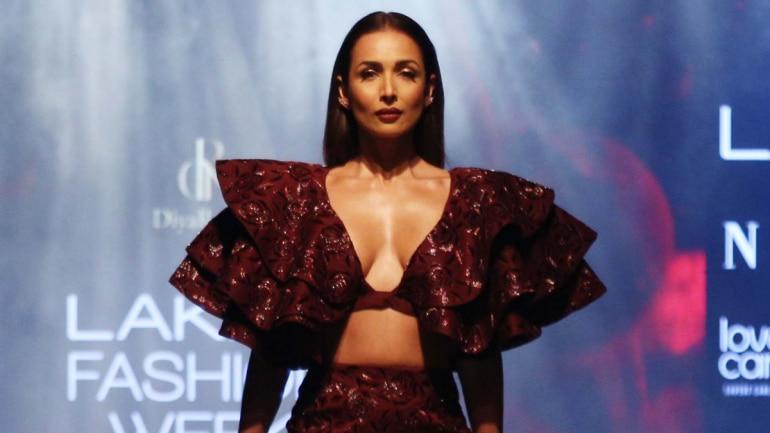 Malaika Arora at Lakme Fashion Week 2019 Photo: Yogen Shah