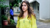 Sara Ali Khan gives monsoon fashion a bright lime-green twist on day out. See pics