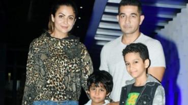 Amrita Arora at dinner date with family Photo: Yogen Shah
