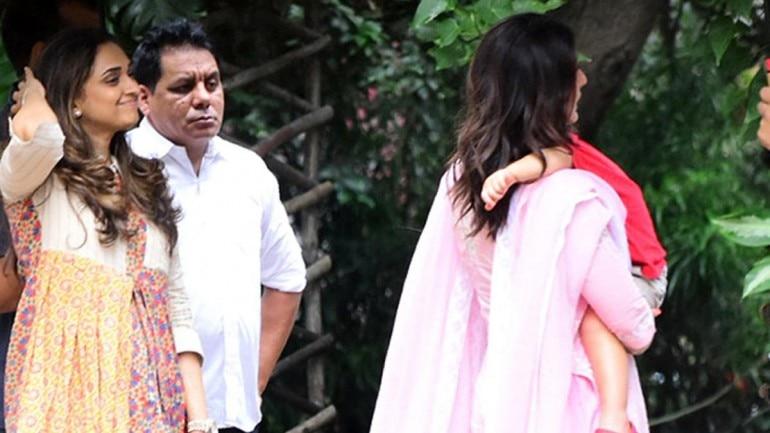 Taimur Ali Khan with Kareena Kapoor