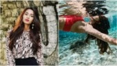 Kasautii's Erica Fernandes goes underwater in red bikini in Maldives. See pics