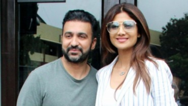 Shilpa Shetty on lunch date with family Photo: Yogen Shah
