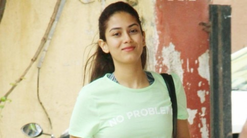 Mira Rajput at the gym Photo: Yogen Shah