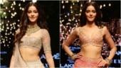 Ananya Panday turns into a stunning bride as she makes her runway debut at Lakme Fashion Week 2019