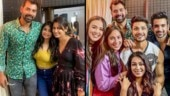 Kumkum Bhagya's Shabir Ahluwalia and Sriti Jha party the night away with entire gang. See fun pics