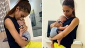 Erica Fernandes latest pics with this little munchkin are too cute for words