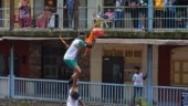 Mumbaikars form human pyramids for Dahi Handi to celebrate Krishna Janmashtami: Photos