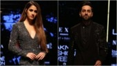 Disha Patani shimmers and shines in thigh-slit dress with Ayushmann Khurrana at Lakme Fashion Week