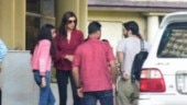 Sushmita Sen visits hospital with boyfriend Rohman Shawl and daughters Renee, Alisah. See pics