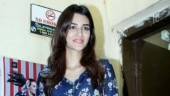 Kriti Sanon keeps it simple in blue dress on day out in Mumbai. See pics
