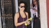 Malaika Arora flaunts her enviable figure in comfy tee and mini shorts at gym. See pics