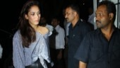 Mira Rajput is sexy in one-shoulder top and leather pants on day out. See pics