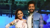 LFW 2019: Genelia D'Souza and Riteish Deshmukh set major couple goals on the ramp. See pics