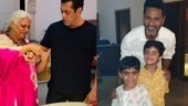 Salman Khan and Prabhudheva celebrate Raksha Bandhan with Bina Kak in Jaipur. See pics