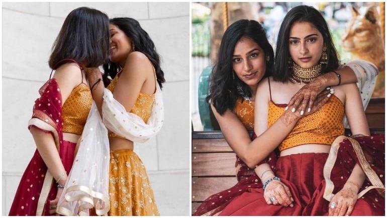 Hindu-Muslim same-sex couple release new photoshoot Photo: Instagram/SundasMalik