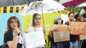 Shraddha Kapoor took part in the protest against felling of trees of Aarey forest in Mumbai.