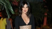 Priyanka Chopra in sexy black bodycon dress steals the spotlight at New York Fashion Week