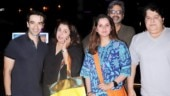 Farah Khan and Sania Mirza are BFFs at dinner outing with friends. Sajid Khan was there too