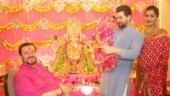 Neil Nitin Mukesh and Rukmini Sahay celebrate first Ganesh Chaturthi with daughter Nurvi. See pics