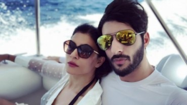 Sushmita Sen with boyfriend Rohman Shawl in Maldives