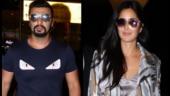 Airport Spotting: Arjun Kapoor back from Austria after Malaika Arora, Katrina Kaif stuns in camo jacket