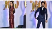 Katrina Kaif-Vicky Kaushal are the cynosure of all eyes at Bollywood pre-award show. See pics