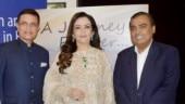Nita Ambani looks ethereal in ethnic attire with Mukesh Ambani at book launch. See pics