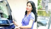 Janhvi Kapoor is undeniably pretty in floral mini wrap dress at gym in Mumbai