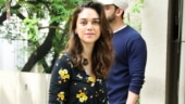 Aditi Rao Hydari stuns in black floral romper on a day out in the bay. Stunning, we say