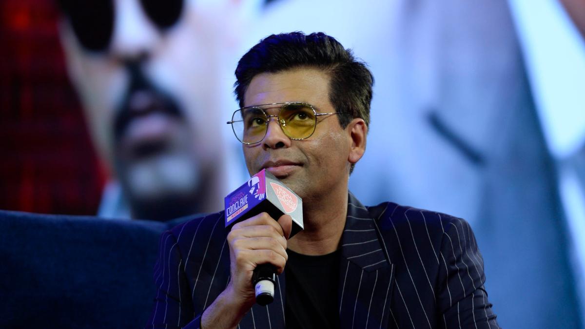 Karan Johar at India Today Conclave Mumbai 2019