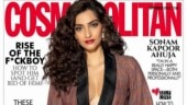 Sonam Kapoor on the cover on Cosmopolitan India September issue Photo: Ishaan Nair