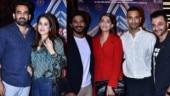 Zaheer Khan-Sagarika Ghatge attend The Zoya Factor screening with Sonam Kapoor and Dulquer Salmaan