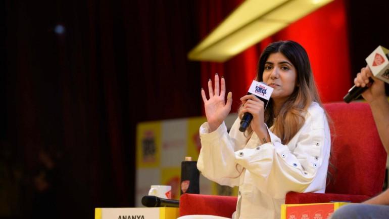 Ananya Birla was speaking at Mind Rocks Delhi 2019