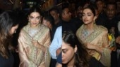 Deepika Padukone looks resplendent in silk saree as she visits Lalbaugcha Raja Ganpati. See pics