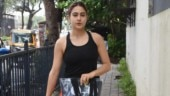 Sara Ali Khan in ganji top and mini shorts slays effortless fashion at dance class