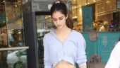 Disha Patani sets the bay on fire in crop jacket and mini shorts on day out. Slayer, we say