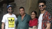 Vicky Kaushal with family. Photo: Yogen Shah.