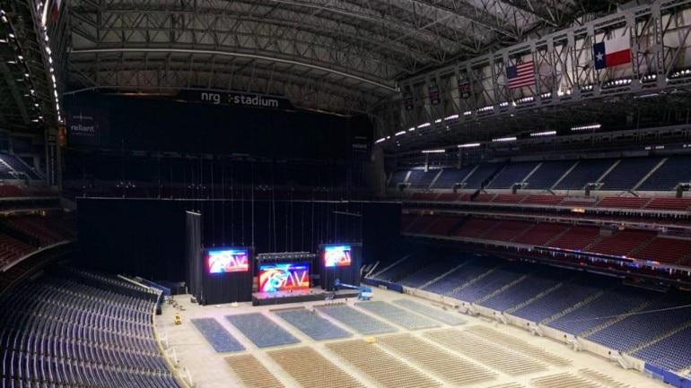Howdy, Modi!: First images of PM Modi's event venue in Houston