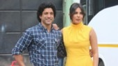 Farhan Akhtar and Priyanka Chopra kick off The Sky Is Pink promotions in Mumbai. See pics