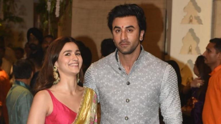 Ranbir Kapoor and Alia Bhatt. Photo: Yogen Shah