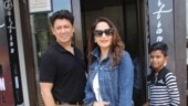 Madhuri Dixit with Dr Nene