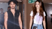 Tiger Shroff and girlfriend Disha Patani step out for movie date. See pics