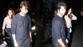 Shahid Kapoor and Mira Rajput step out for dinner date. See pics