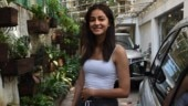 Ananya Panday in spaghetti top and pyjamas mixes comfort dressing with street style for day out