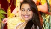Durga Puja 2019: Rani Mukerji steps out for pandal hopping in Mumbai. See pics