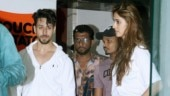 Tiger Shroff and girlfriend Disha Patani snapped together at dance rehearsals. See pics