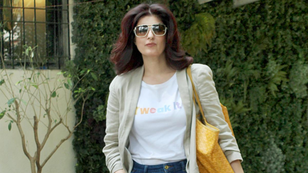 Twinkle Khanna on day out Photo: Yogen Shah