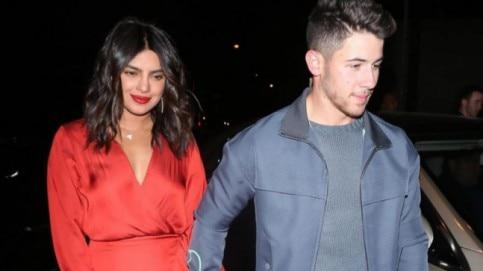 Priyanka Chopra and Nick Jonas Photo: Instagram/priyankacentral