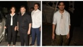 Rishi Kapoor and Neetu Kapoor join Ayan Mukerji at birthday bash. See pics