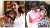 Happy Birthday Amitabh Bachchan: Big B with granddaughters Aaradhya Bachchan and Navya Nanda. 10 pics